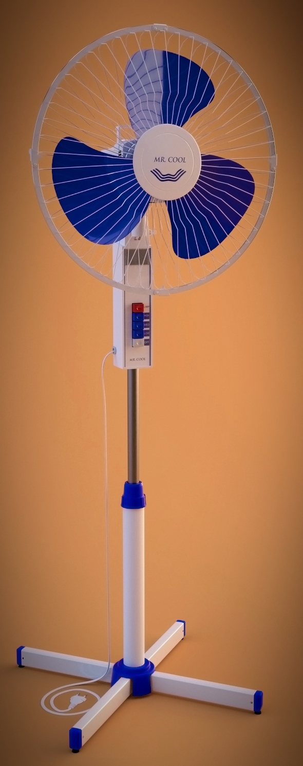 Electric Fan - 3DOcean Item for Sale