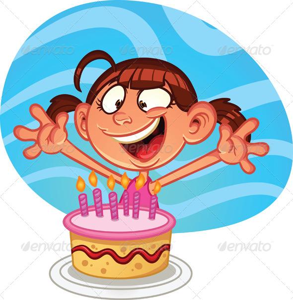 Birthday Girl - Birthdays Seasons/Holidays