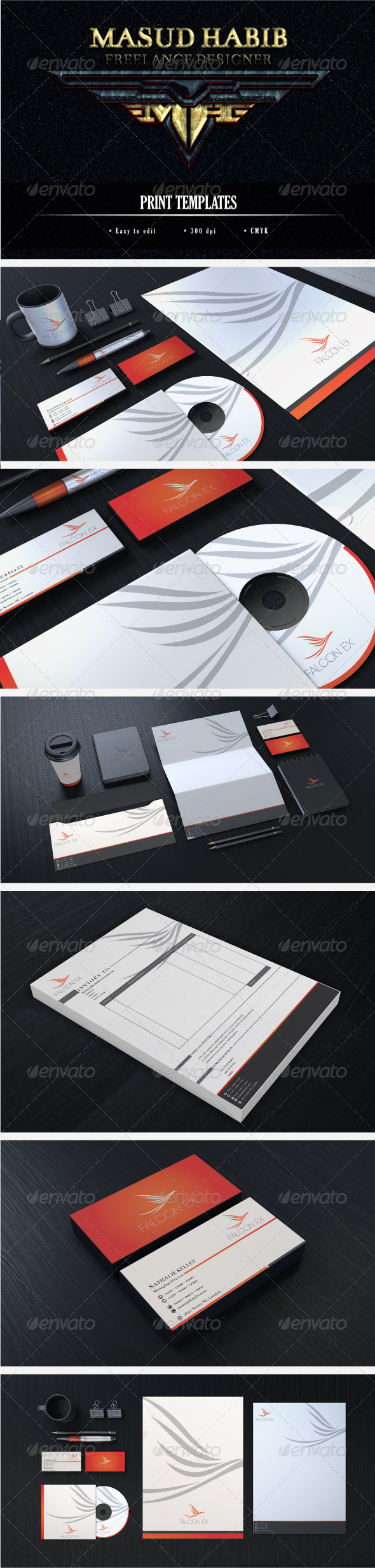 Creative Corporate Identity 14 - Stationery Print Templates