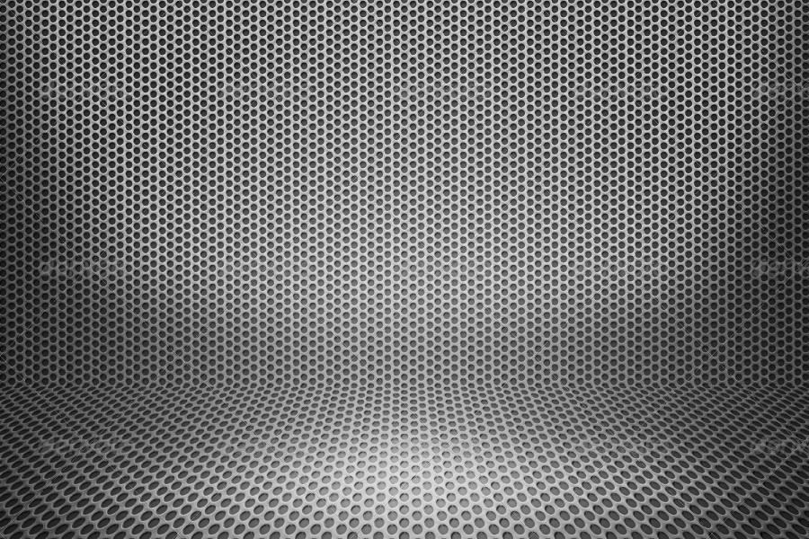 Metal Dots Room Background