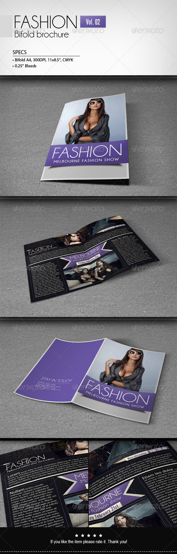 Fashion - Bifold Brochure [Vol.2] - Corporate Brochures