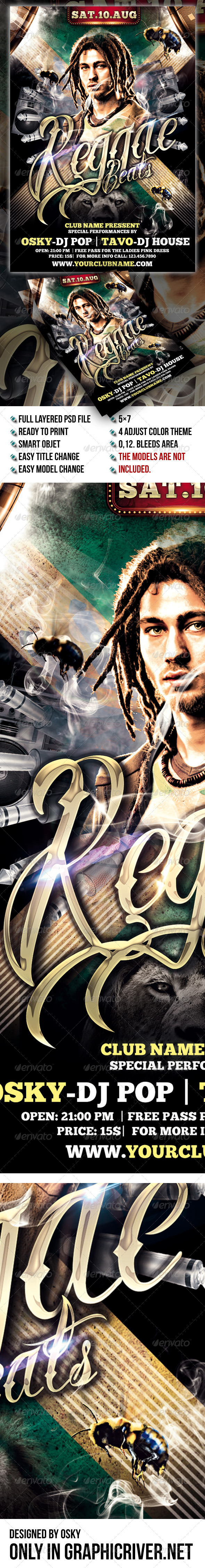 Reggae Beats Party - Clubs & Parties Events