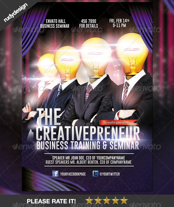 Creative Professional Business Flyer Design By Rudydesign