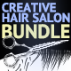 Hair Salon Bundle - GraphicRiver Item for Sale
