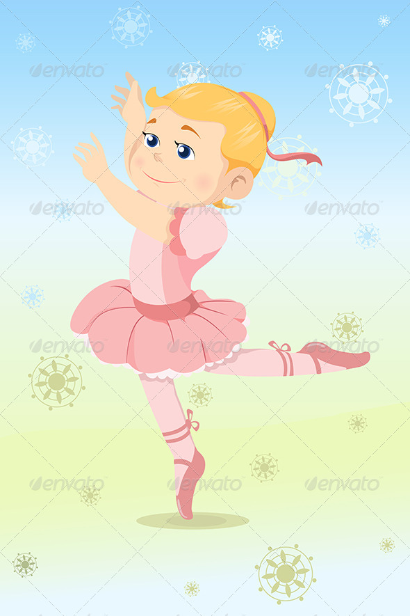 Ballerina Girl - People Characters