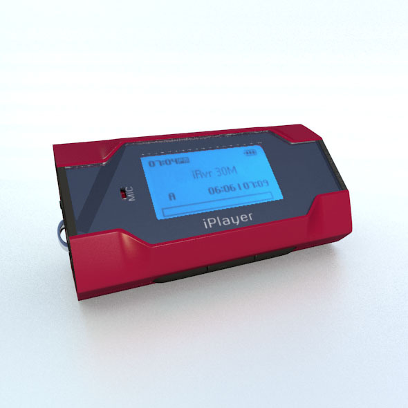 iRiver T30 mp3 player - 3DOcean Item for Sale