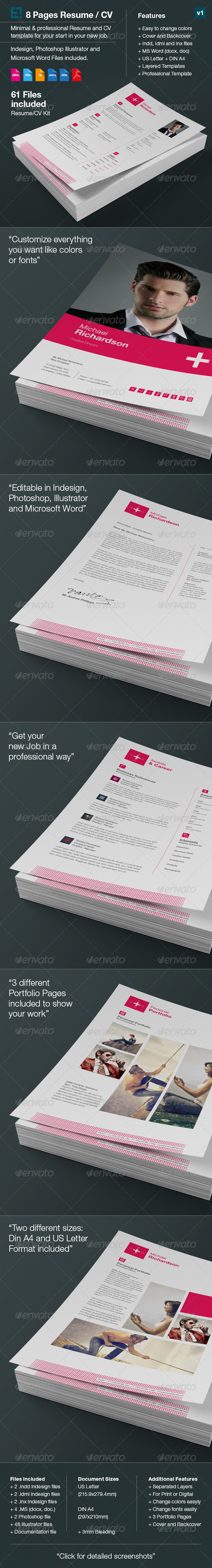 Swiss Resume/CV - Resumes Stationery