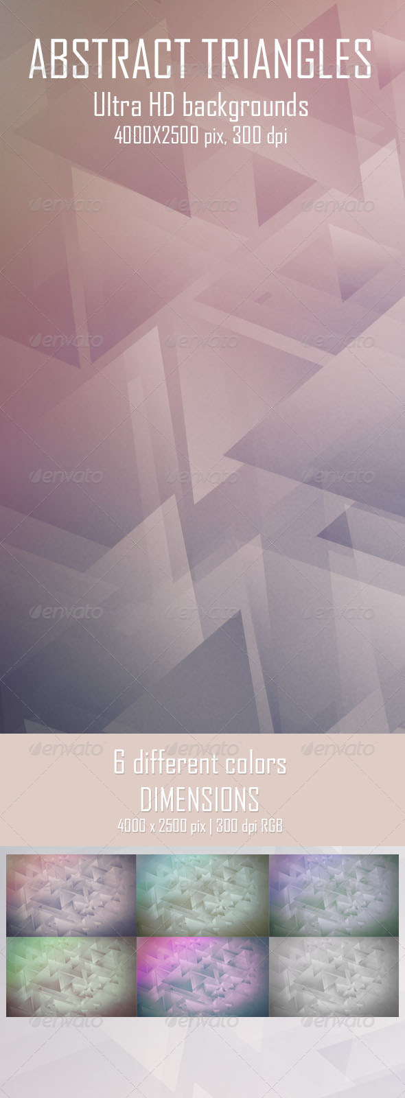 Abstract Triangles Backgrounds - Abstract Backgrounds