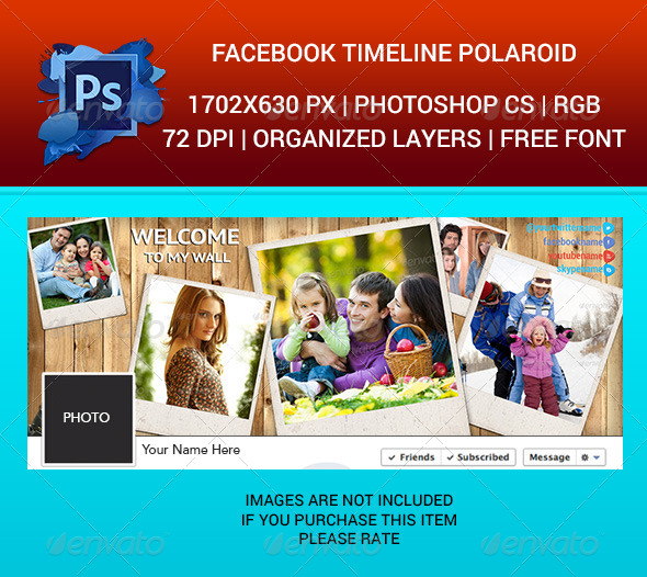 Facebook Timeline Cover Polaroid - Facebook Timeline Covers Social Media