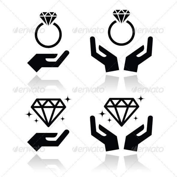 Engagement Ring Icons - Weddings Seasons/Holidays
