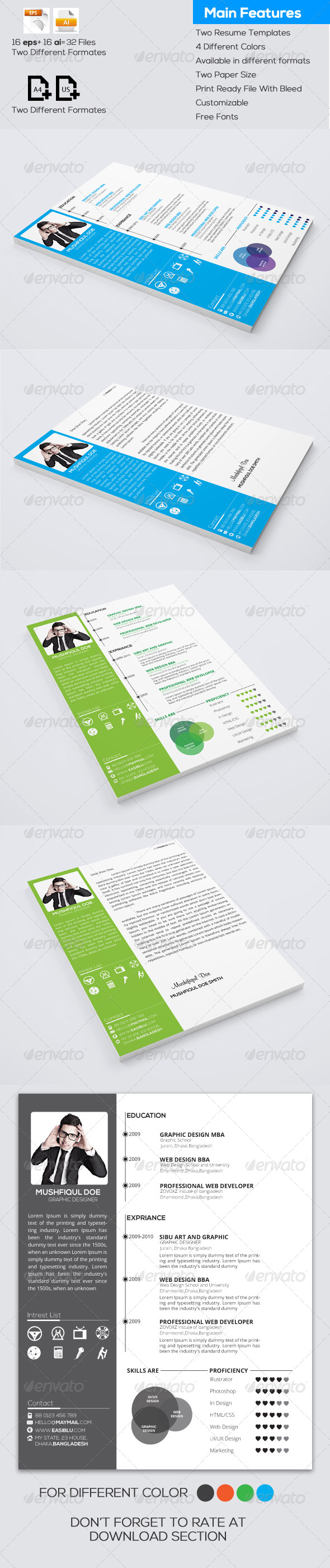 Resume and Cover Letter - Resumes Stationery