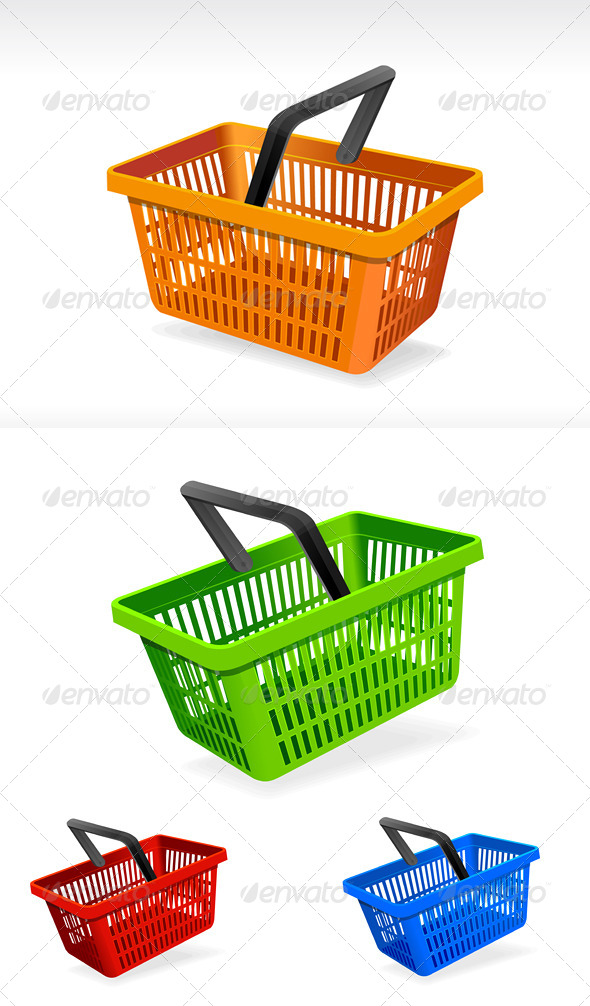 Shopping Basket  - Commercial / Shopping Conceptual