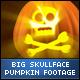 Halloween Skull Face Big Pumpkins - VideoHive Item for Sale