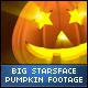 Halloween Stars Face Big Pumpkins - VideoHive Item for Sale