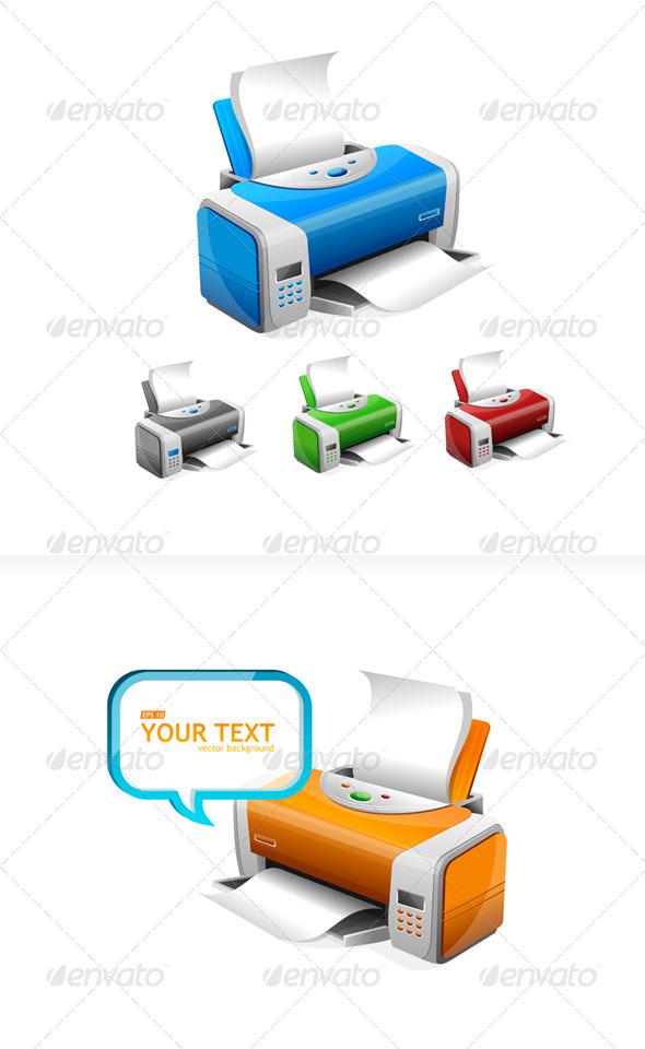 Printers - Business Conceptual