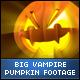 Halloween Vampire Face Big Pumpkins - VideoHive Item for Sale