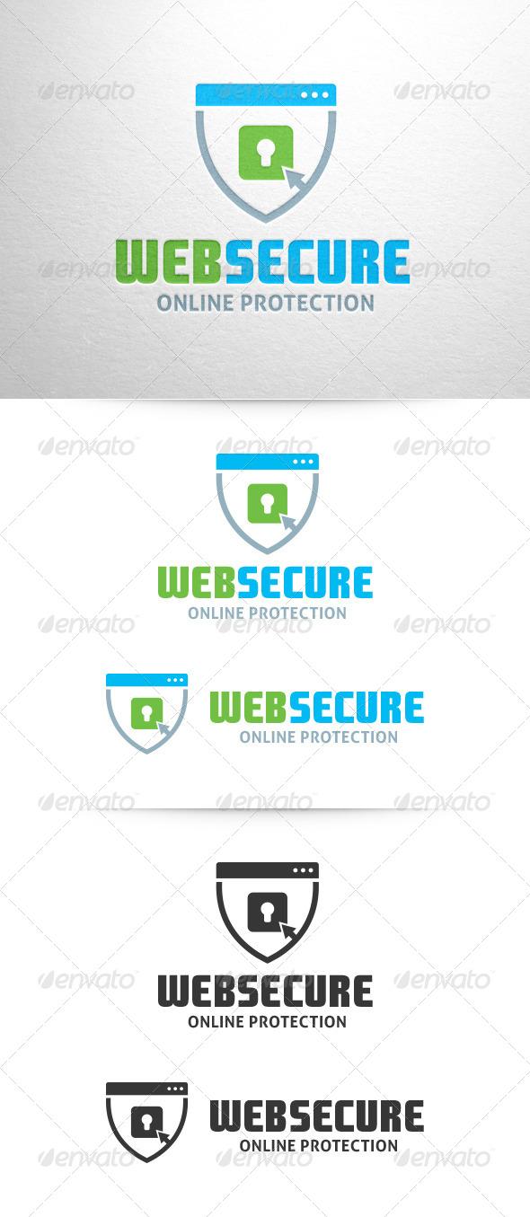 Web Secure Logo Template - Symbols Logo Templates