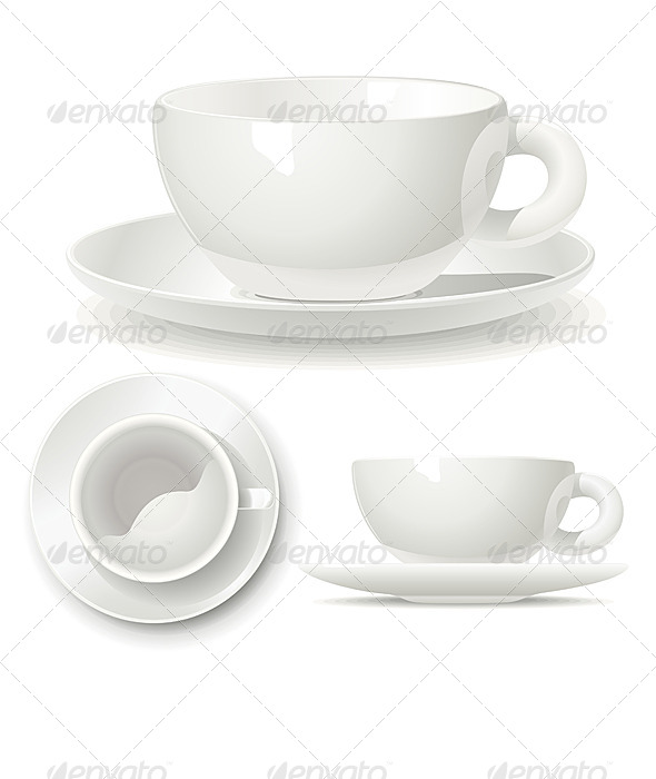 Small Coffee Cup - Food Objects