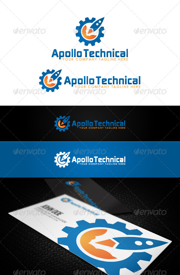 Apollo Technical - Logo Templates