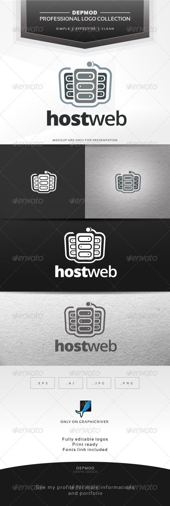 Host Web Logo - Symbols Logo Templates