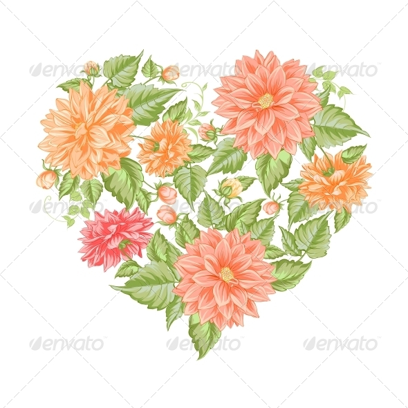 Chrysanthemum Holiday Card - Valentines Seasons/Holidays