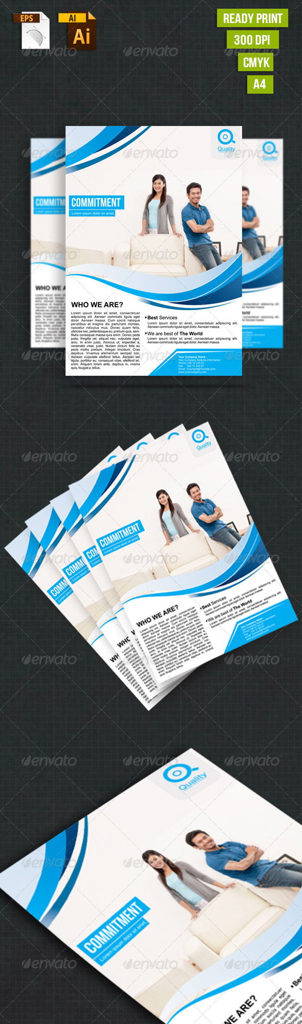 Simple Business Vol.2 - Corporate Flyers