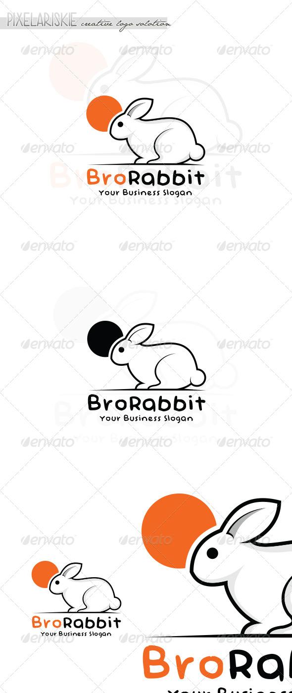 Rabbit Animal Logo - Animals Logo Templates