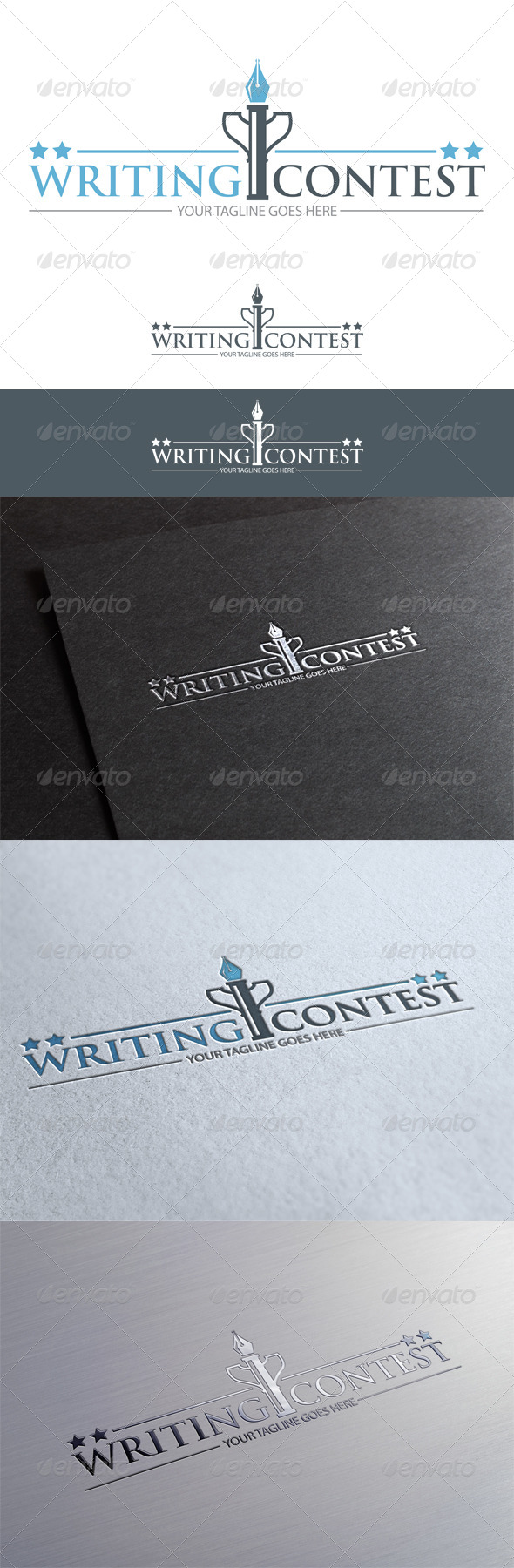 Writing Contest - Abstract Logo Templates
