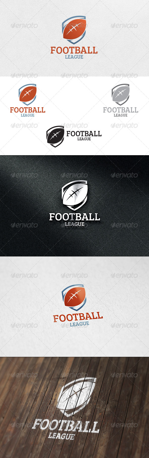 Football - Logo Template - Objects Logo Templates