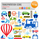 Transportation Icons - GraphicRiver Item for Sale