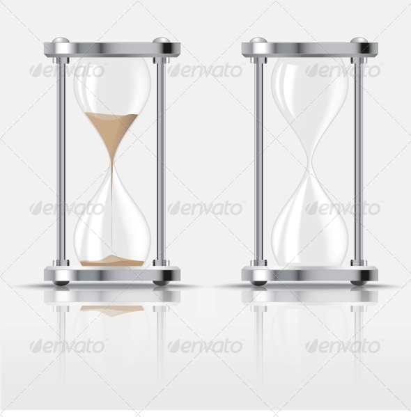 Hourglass - Man-made Objects Objects
