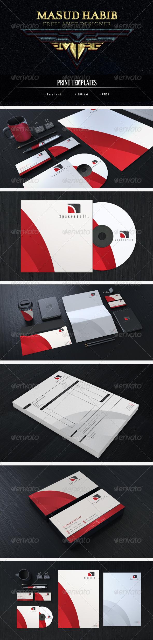Creative Corporate Identity 15 - Stationery Print Templates
