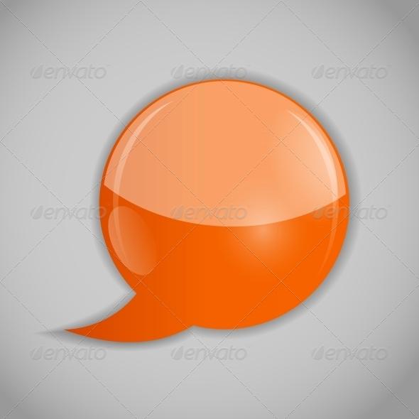 Speech Bubbles Vector Illustration - Web Technology