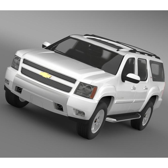 Chevrolet Suburban Z71 - 3DOcean Item for Sale