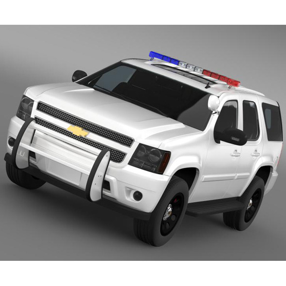 Chevrolet Tahoe Police - 3DOcean Item for Sale