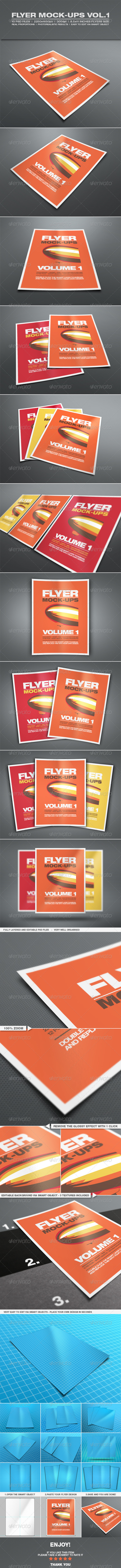 Flyer Mock-up Vol.1 - Flyers Print