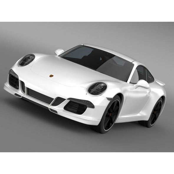 Porsche 911 4s Exclusive - 3DOcean Item for Sale