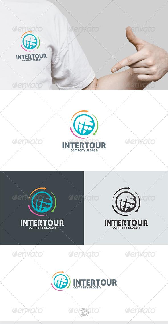 Intertour logo - Symbols Logo Templates