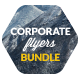 Bundle 3x Clean Corporate Multipurpose Flyers - GraphicRiver Item for Sale