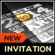 Chalkboard Graduation Invitation Package - GraphicRiver Item for Sale
