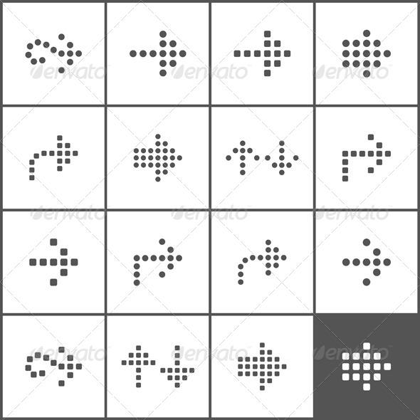 Arrow Icons - Web Elements Vectors