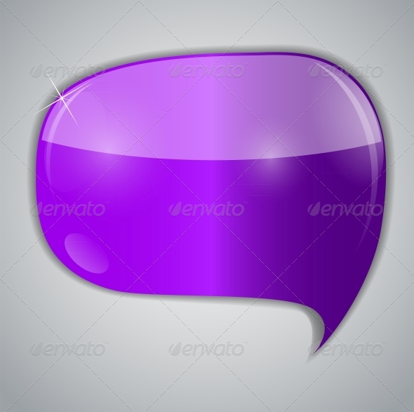Speech Bubbles Vector Illustration - Web Technology