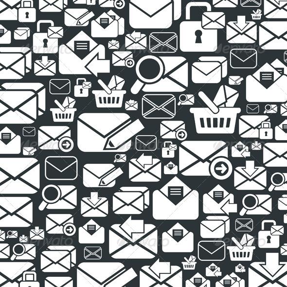 Letter Background - Communications Technology