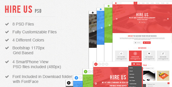 Hire Us – Multi-Purpose Landing Page