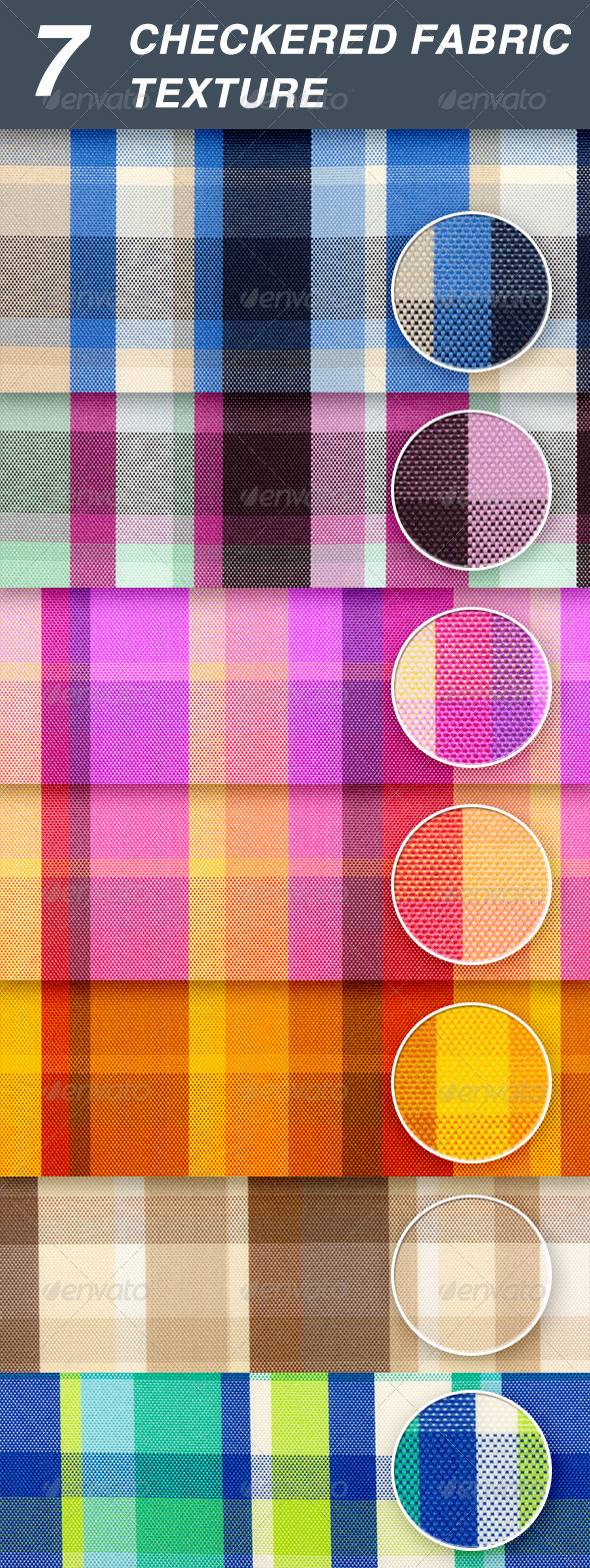 checkered fabric  - Fabric Textures