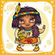 North american indian boy - GraphicRiver Item for Sale