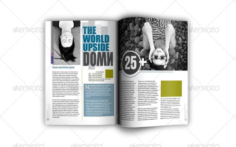 Big Bundle Indesign Magazine Templates by Jazh   GraphicRiver