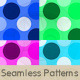 Pastel Pop Dots Pattern Set - GraphicRiver Item for Sale