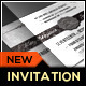 Silver Wedding Invitation Template - GraphicRiver Item for Sale