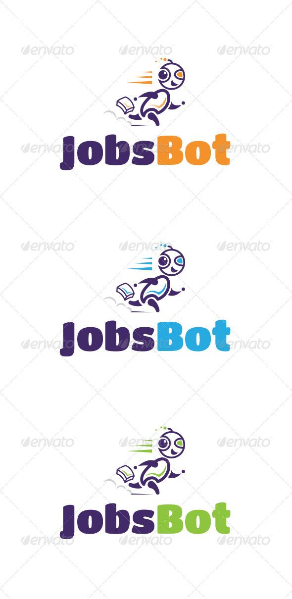 Jobs Bot Logo Templates - Logo Templates
